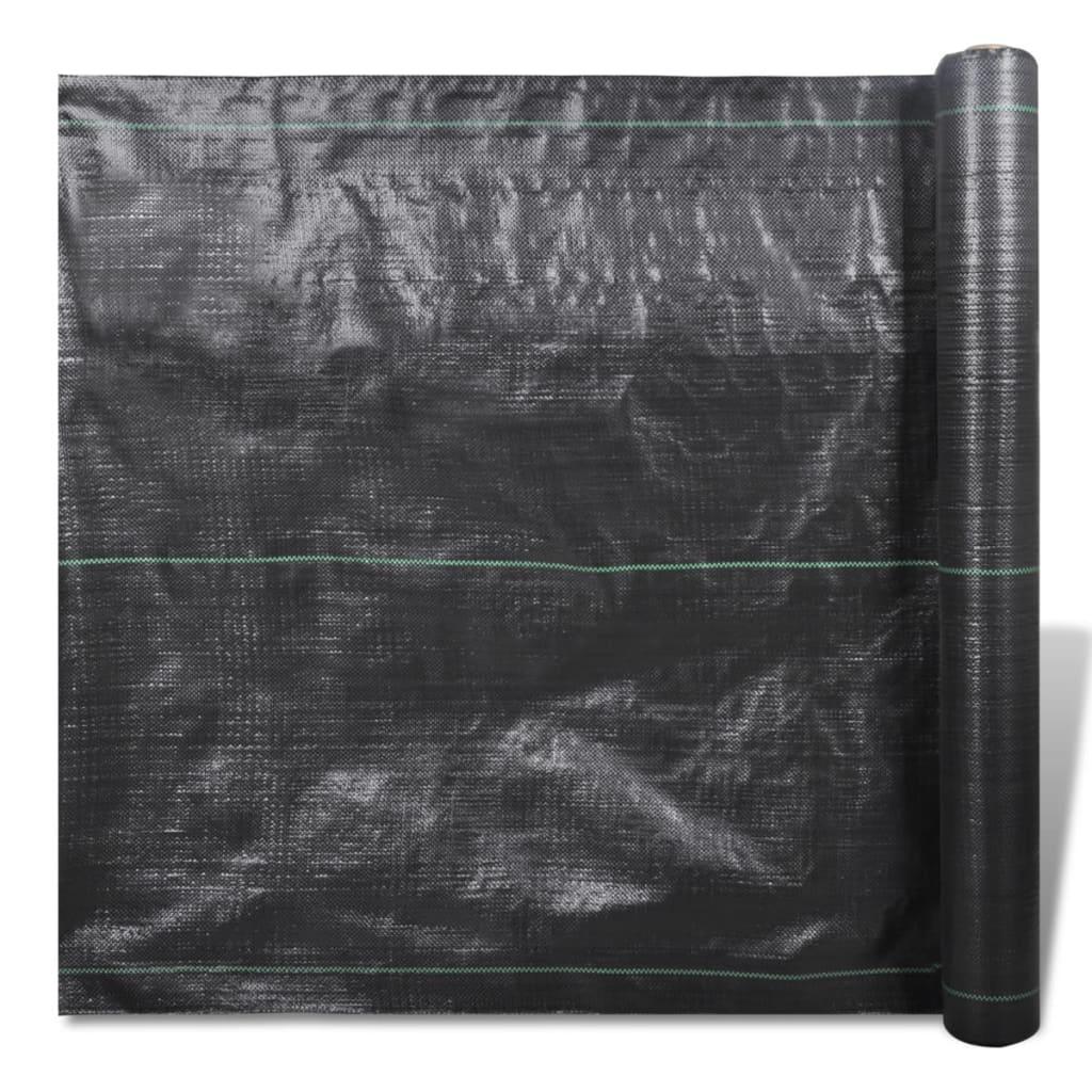 Folie de mulcire din polipropilenă, 150 x 2 m, 90 g/m2 imagine vidaxl.ro