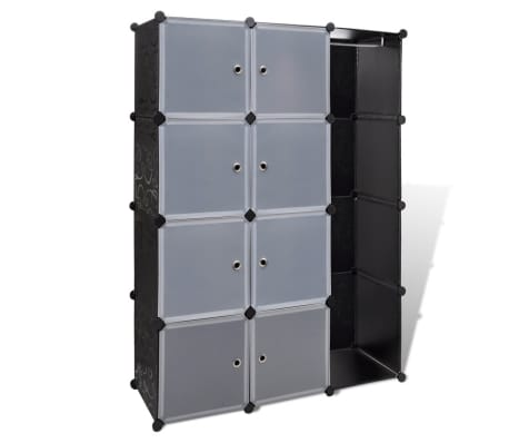 "vidaXL Modular Cabinet with 9 Compartments 1' 3""x3' 9""x4' 11""[2/7]"
