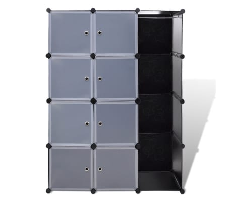 "vidaXL Modular Cabinet with 9 Compartments 1' 3""x3' 9""x4' 11""[3/7]"