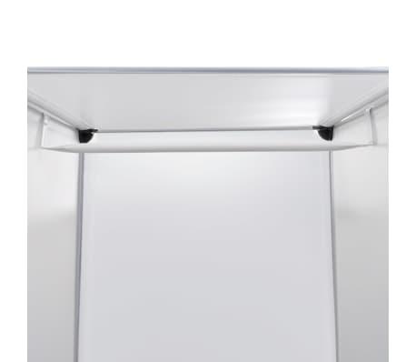 vidaXL Armoire modulaire 9 compartiments Blanc 37 x 115 x 150 cm[5/7]