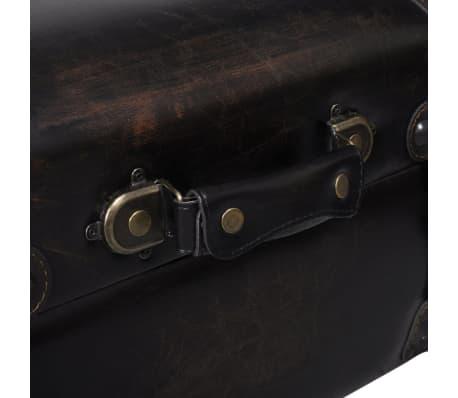 Long banc banquette coffre de rangement de stockage[4/7]