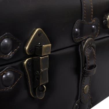 Long banc banquette coffre de rangement de stockage[5/7]