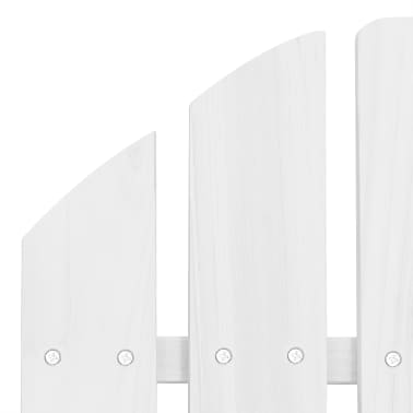 Wood Chair Living Room Garden Chair White[5/5]
