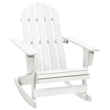Wood Rocking Chair White[1/6]