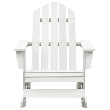 Wood Rocking Chair White[2/6]