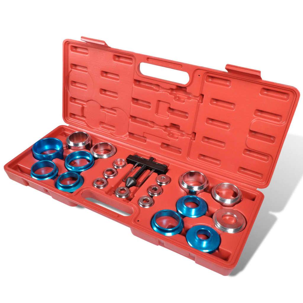vidaXL Crank Oil Seal Remover/Installer Kit Universal Seals Crankshaft