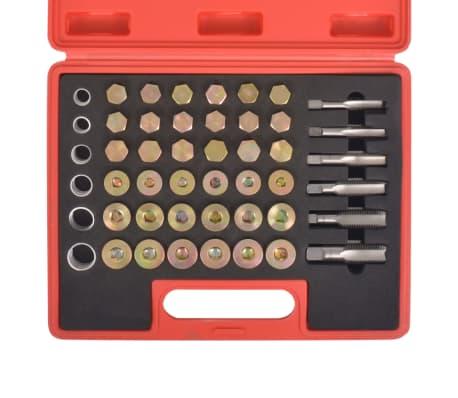 vidaXL Kit de réparation de filetage de bouchon de vidange d'huile[3/7]
