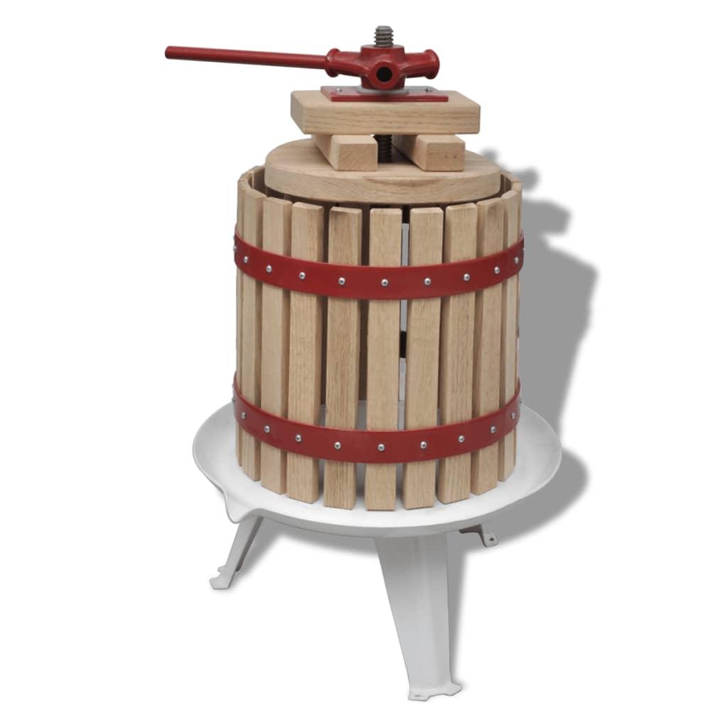 Lis na víno, jablečné víno a ovocnou šťávu - 12 litrů