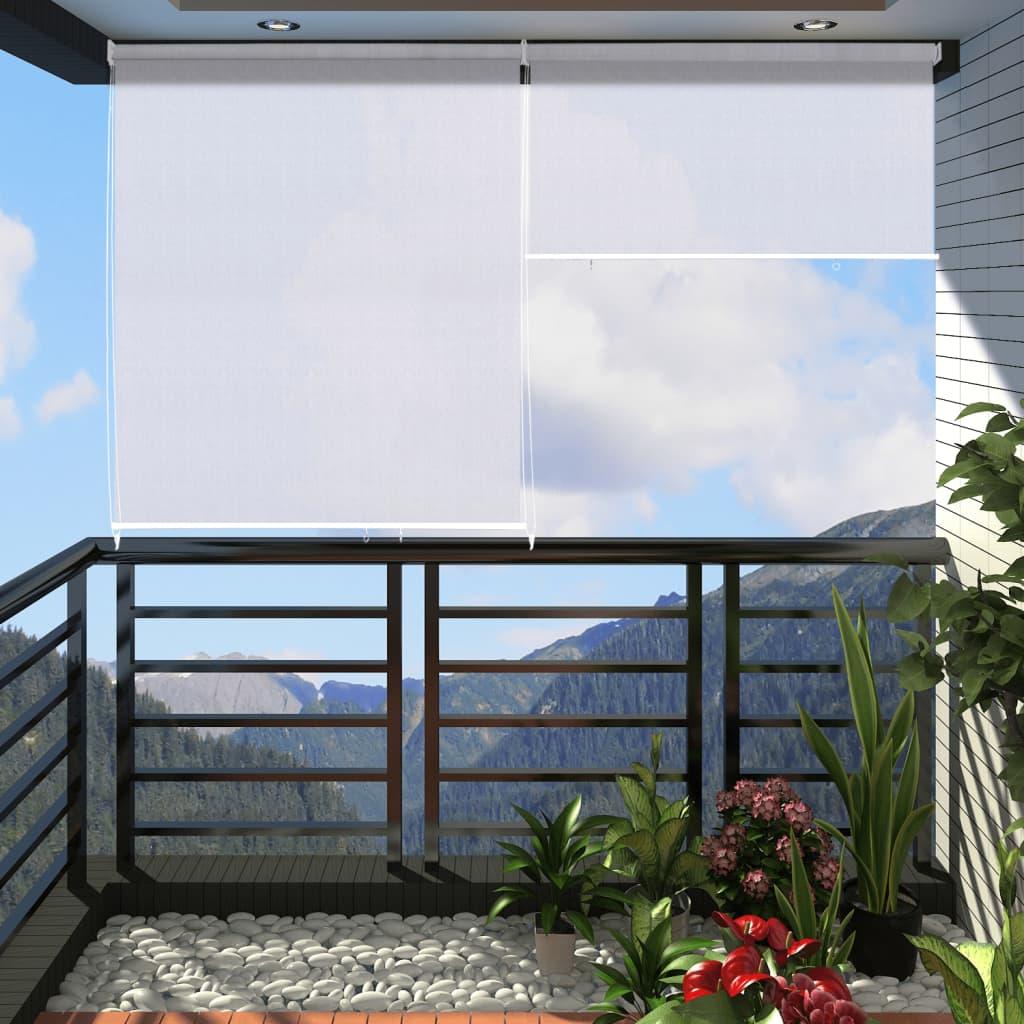 Balkonová roleta 180x230cm  barva bílá