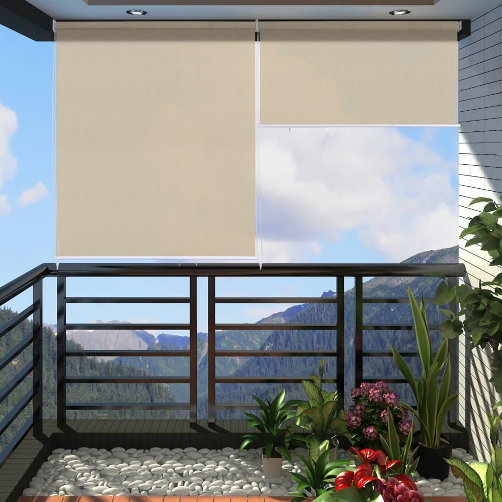 Stor pentru balcon, 140 x 230 cm, Bej vidaxl.ro