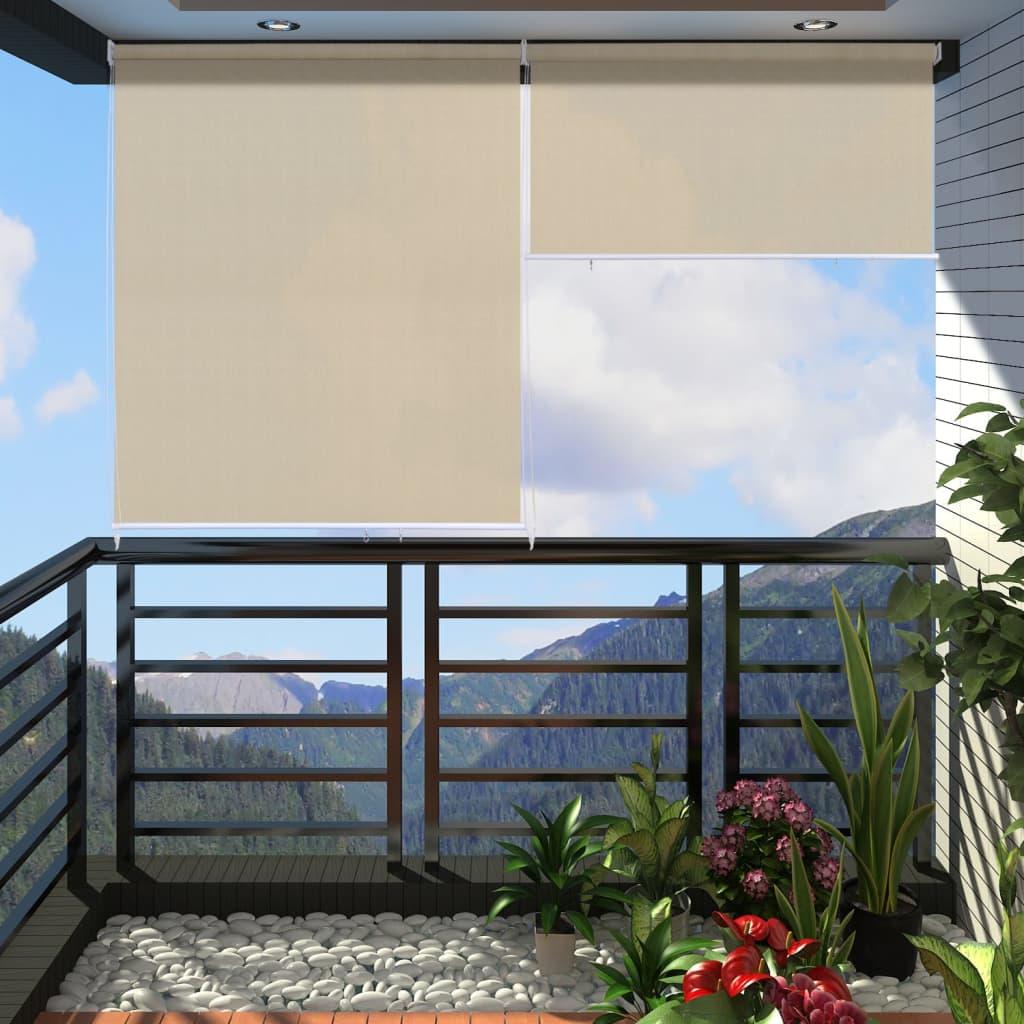 Balkonová roleta 240 x 230 cm barva písku