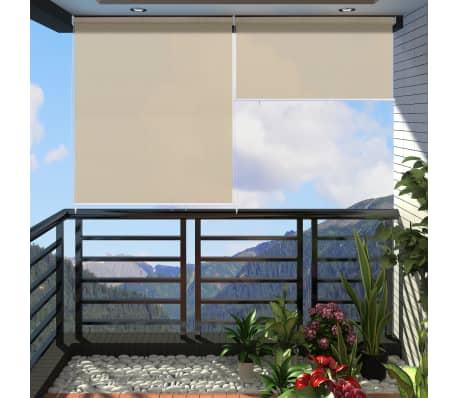 rolgordijn zandkleurig 240x230cm online kopen. Black Bedroom Furniture Sets. Home Design Ideas