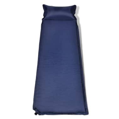 Colchón De Aire 6 x 66 x 200 cm Azul Almohada Inflable[2/6]