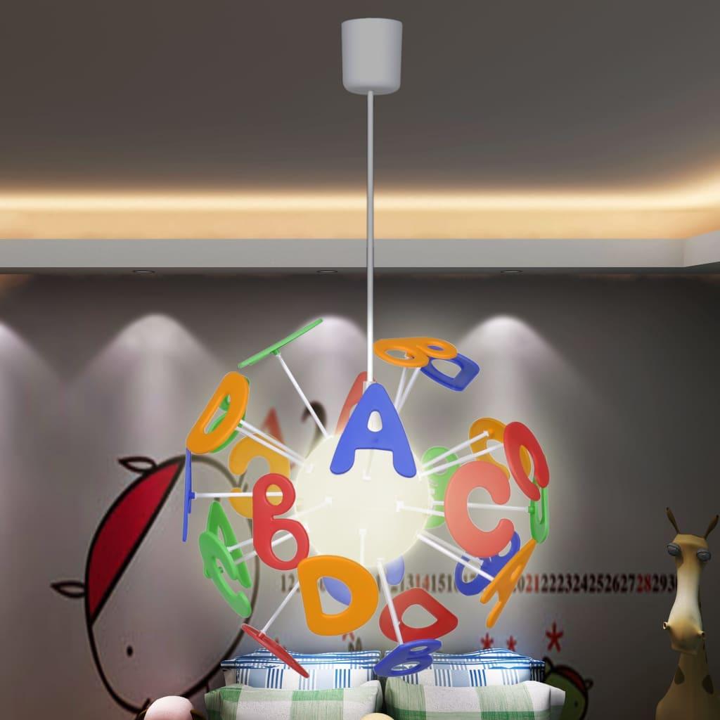 Lustră cameră copii ABC vidaxl.ro