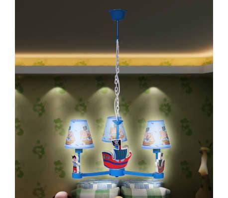 Luminaires chambres d 39 enfant mod le 3 abat jours for Luminaire chambre d enfant