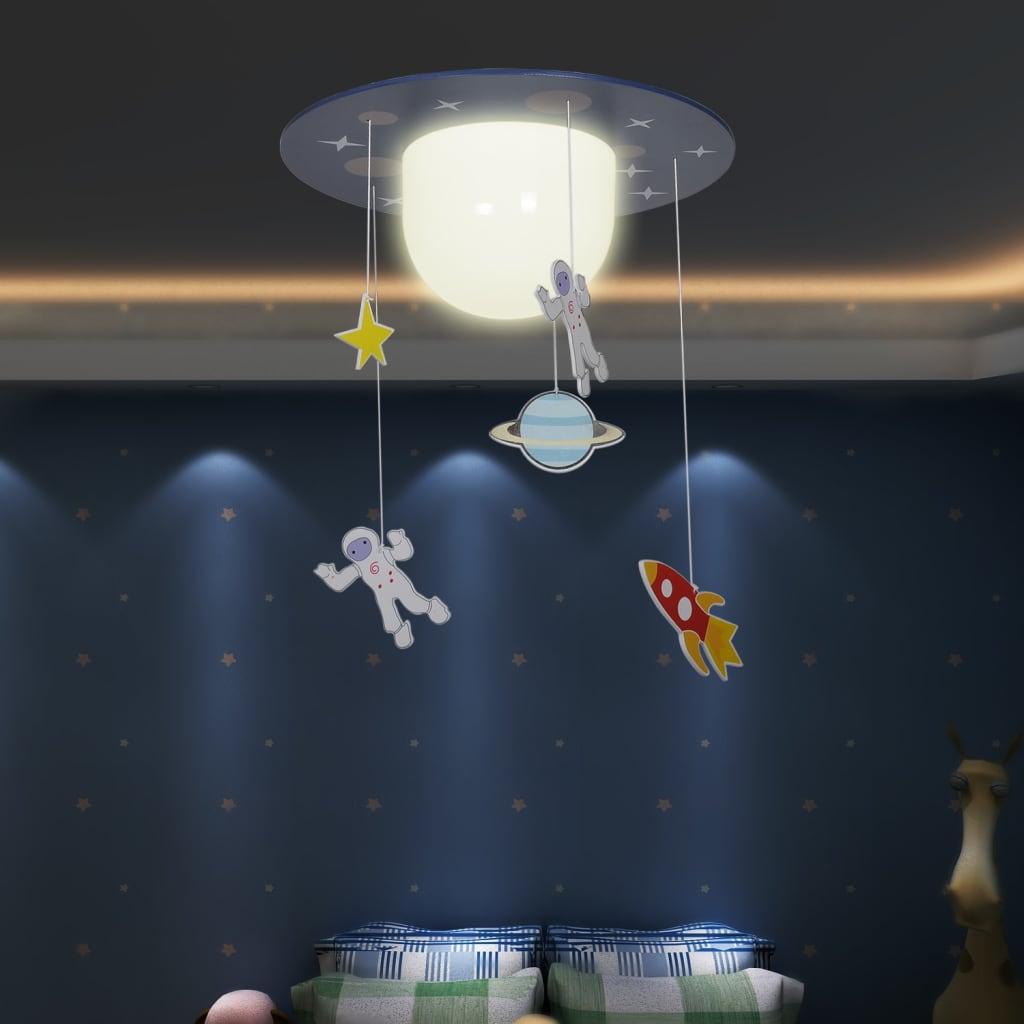 Lustră cameră copii cu astronauți poza 2021 vidaXL
