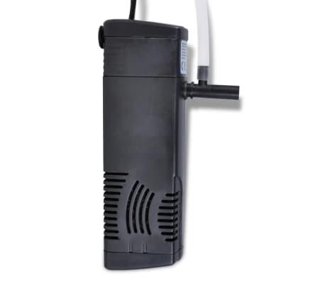 vidaXL Aquarium Filter Pomp met actieve koolstof 300L/u[2/4]