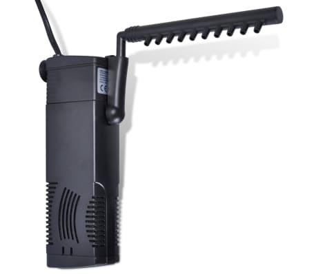 vidaXL Filtro Pompa per Acquario a Carbone Attivo 600L/h[1/4]