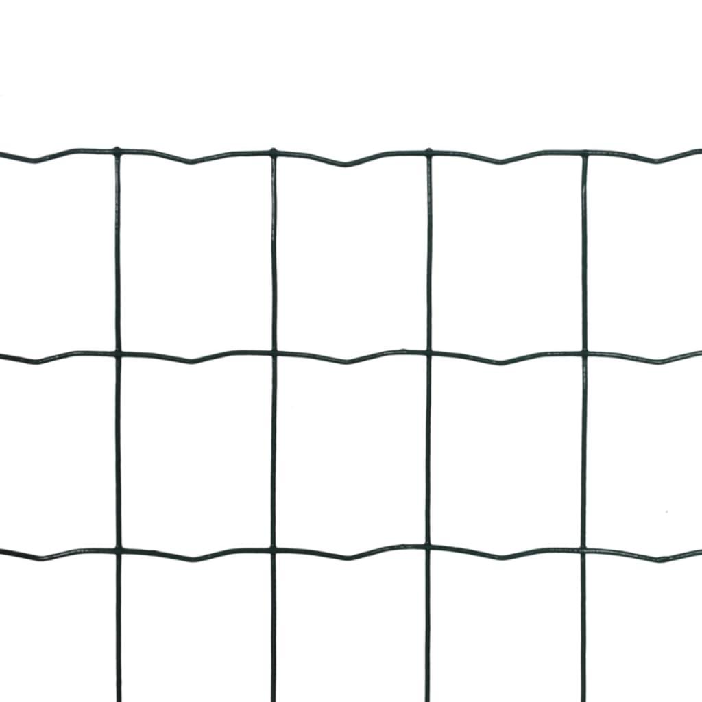 vidaXL Euro gaas 10 x 0,8 m / maaswijdte 100 x 100 mm