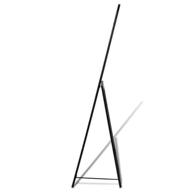 vidaXL Vrijstaande spiegel volledige lengte zwart[4/6]