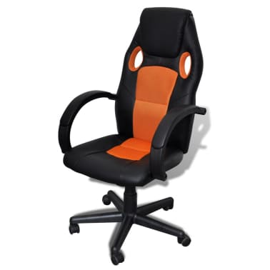 Executive Chair Professional Office Chair Orange[1/4]