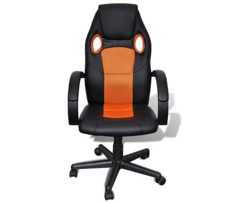 Executive Chair Professional Office Chair Orange[2/4]