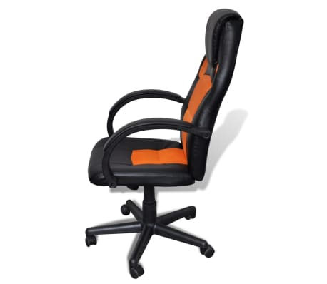 acheter si ge fauteuil de bureau professionnel orange pas cher. Black Bedroom Furniture Sets. Home Design Ideas