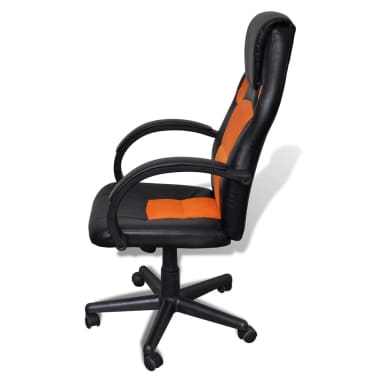 Executive Chair Professional Office Chair Orange[3/4]