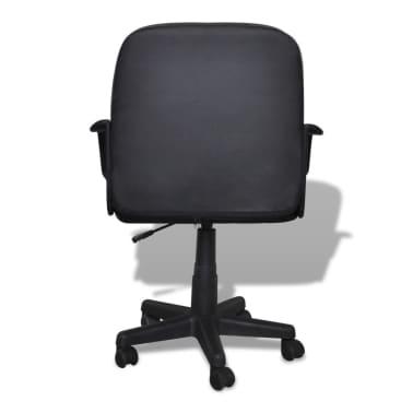 vidaXL Luxury Office Chair Quality Design Black 59 x 51 x 81-89 cm[3/5]