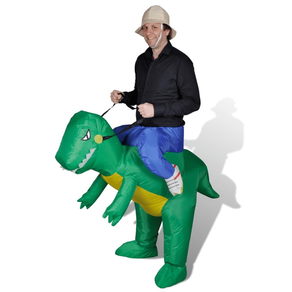 Täispuhutav dinosauruse kos..