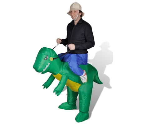 Надуваем костюм динозавър[1/2]