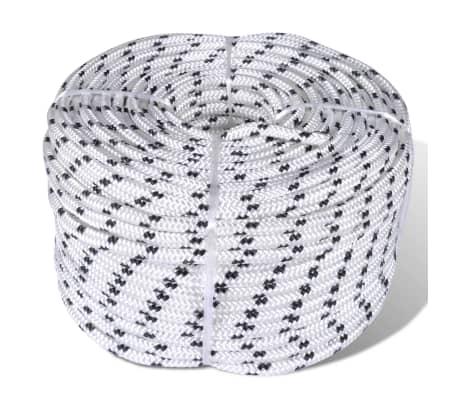 vidaXL Corde de bateau tressée en bobine Polyester 12 mm x 50 m[1/2]