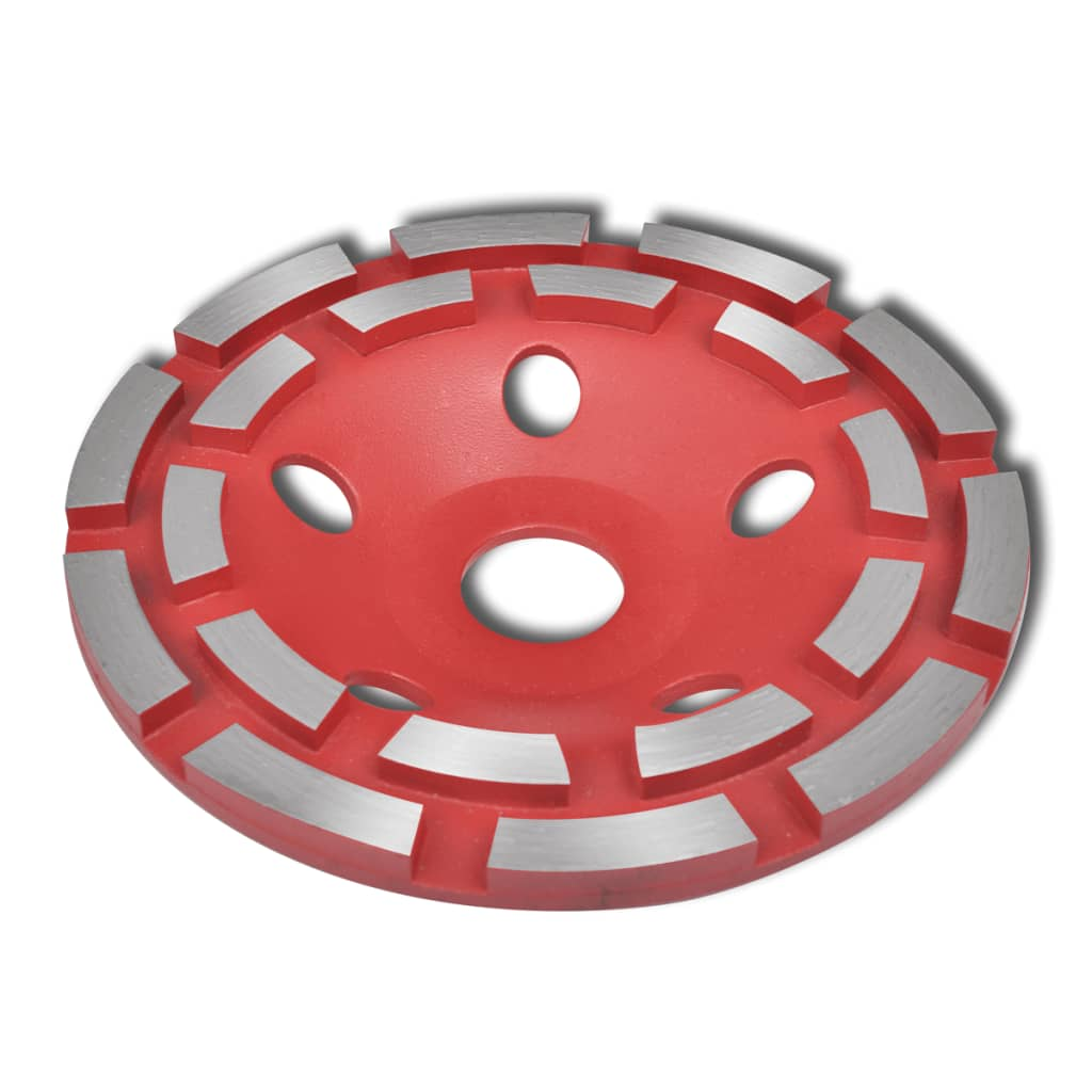 vidaXL Diamond Grinding Cup Wheel Double Row 180mm
