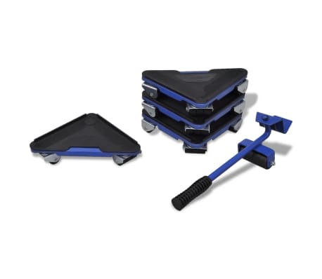 vidaXL Furniture Transport Set Lifter And Wheelset