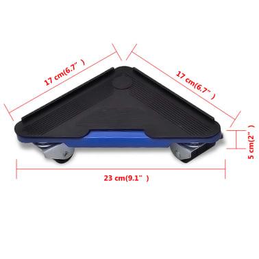 vidaXL Élévateur de transport de meubles et jeu de roulettes[6/6]