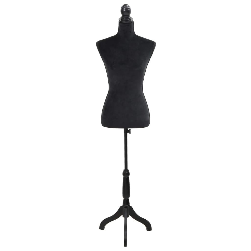 Dámská figurína krejčovská panna černá