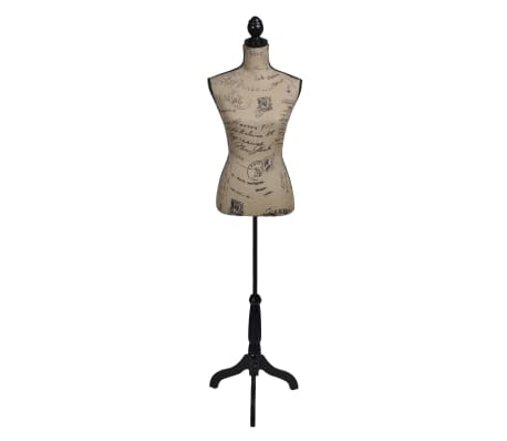 Ladies Bust Display Bust Brown Black Jute Female Mannequin Display[1/5]