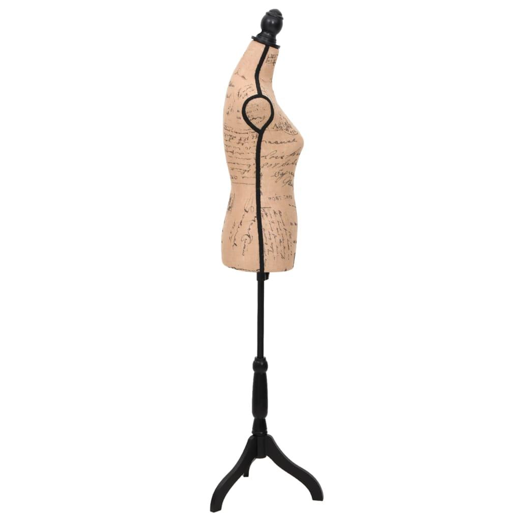 Dámská figurína krejčovská panna hnědá