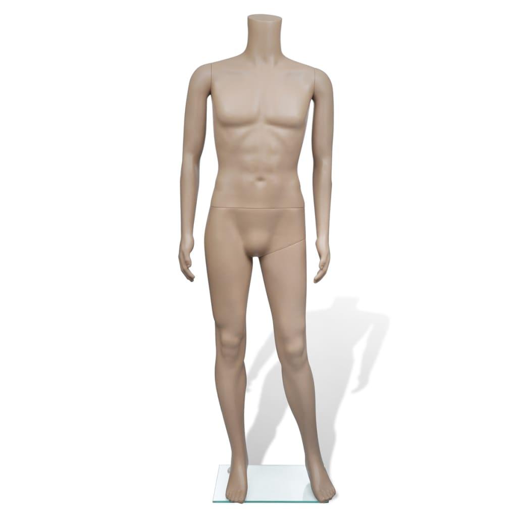 Pánská figurína bez hlavy
