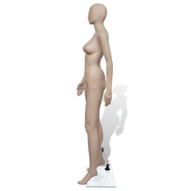 vidaXL Mannequin de vitrine Femme Tête ronde[3/6]