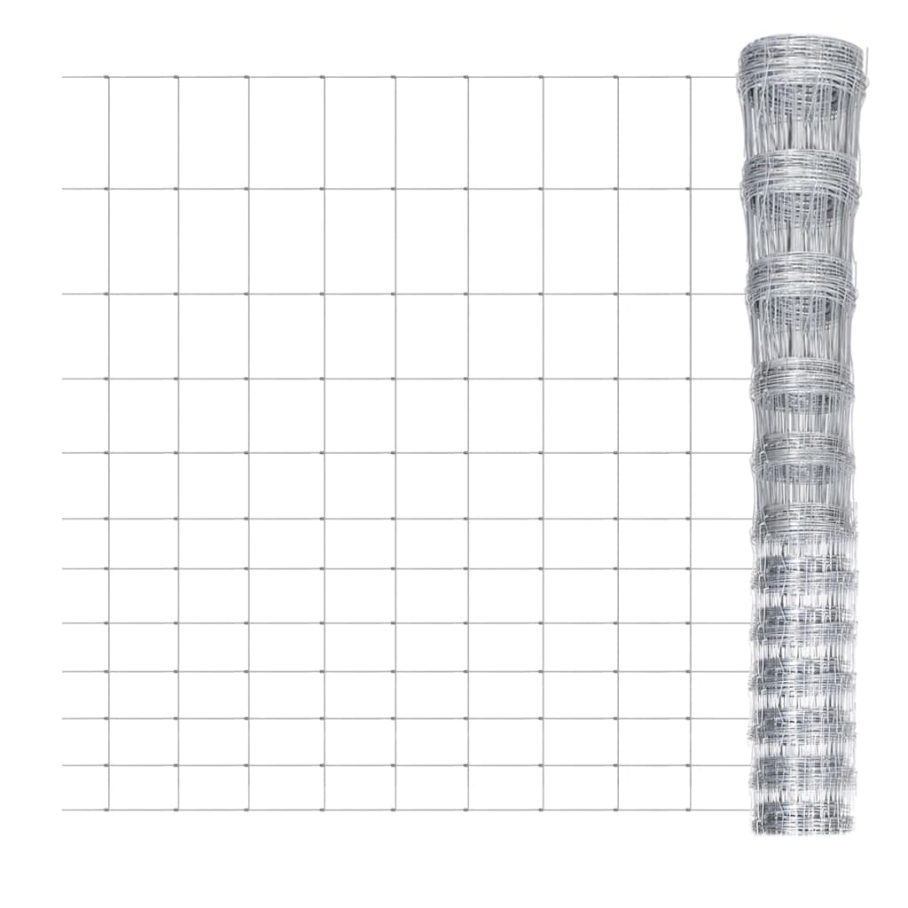 Wildhek verzinkt 50m x 150cm 12 draden horizontaal