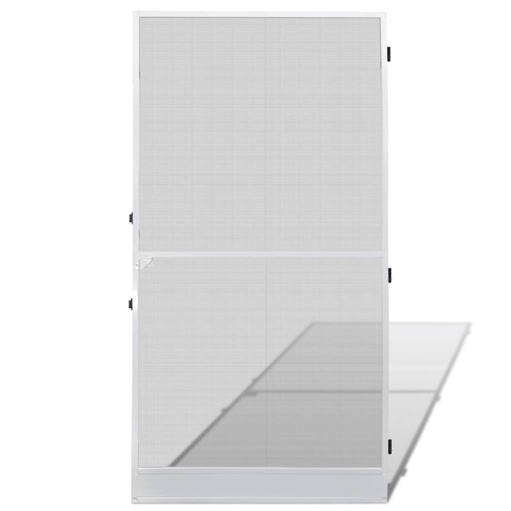 Síť proti hmyzu na dveře 100x215 cm bílá