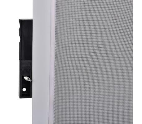 Porta con rete anti insetti zanzariera 120 x 240 cm bianca for Porta 240 cm
