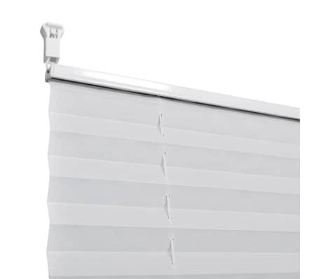 Plisuotos Žaliuzės, 60 x 125 cm, Baltos[6/7]