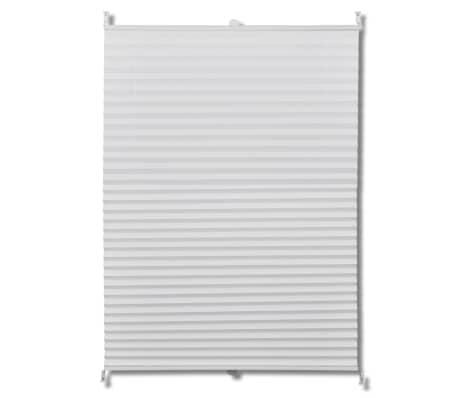 Plisse Blind 80x150cm White Pleated Blind[2/7]