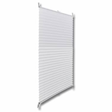 Plisse Blind 80x150cm White Pleated Blind[3/7]