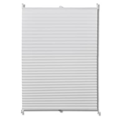 Plisserede blinde 90x125 cm hvid[2/7]