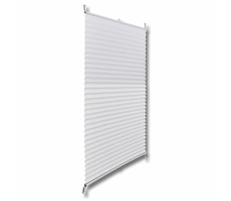 Plisse Blind 90x200cm White Pleated Blind[3/7]
