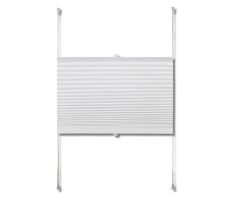 Plisse Blind 90x200cm White Pleated Blind[4/7]