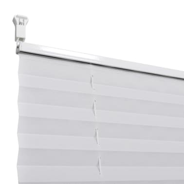 Plisse Blind 90x200cm White Pleated Blind[6/7]